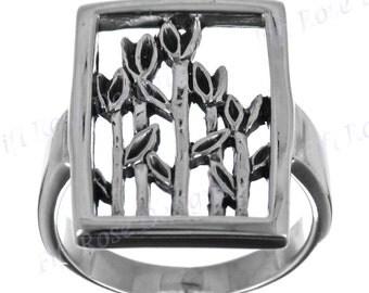 bali art 925 sterling silver sz 6 ring