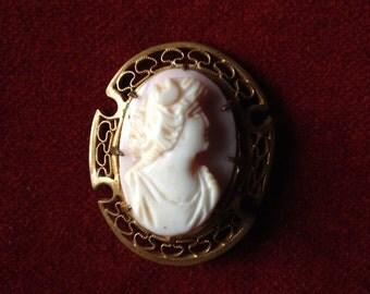 Antique cameo brooch II