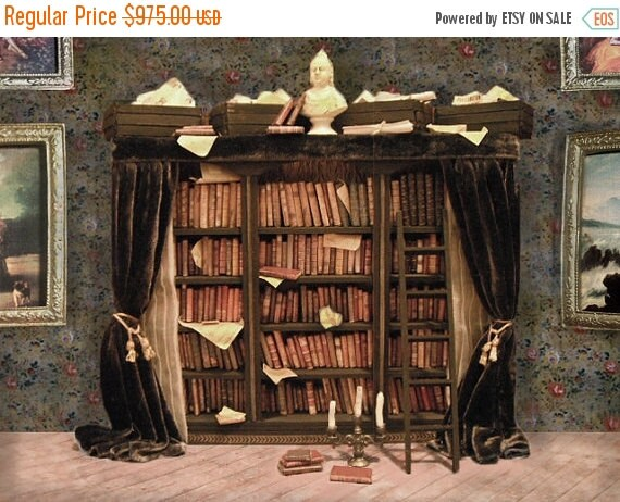ON SALE Miniature Library of Forgotten Books