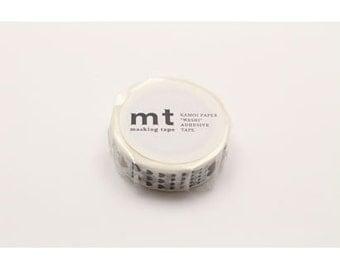 mt deco -heart scale - washi masking tape - single piece