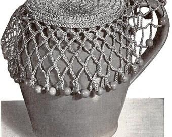 Jug Cover Vintage Crochet Pattern 264