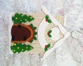 Handmade First Home Christmas Ornament - Polymer Clay New Home Christmas Ornament - Gift for New Neighbors - Gift for New Home Owners -10123