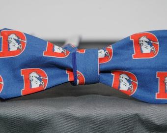 Vintage Denver Broncos Logo Bow tie