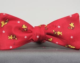 Peanuts Woodstock Flyer Bow tie