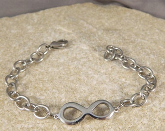 Infinity Stainless Steel Bracelet