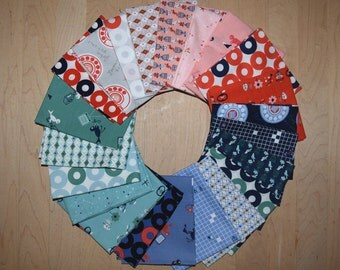 SALE Rotary Club by Kim Kight Fat Quarter Bundle Entire Collection Brand New from Cotton and Steel