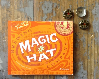 Magic Hat Recycled Beer Notebook
