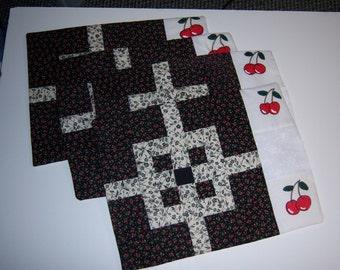 Cherry Place mats