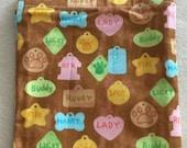 Dog Tags - Eco-Friendly Reusable Sandwich Bag - Go Green