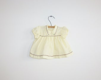 Vintage Yellow Baby Swing Top