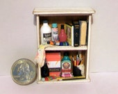 Miniature Artist Shelf  1:12 scale