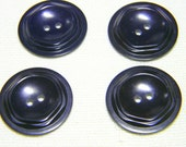 Vintage Colt Manufacturing Buttons-Eggplant Purple-Set of 4 Tiered Buttons-More Available