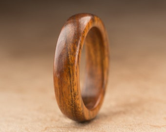 Size 5.75 - Guayacan Wood Ring No. 404