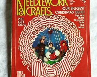 Vintage McCall's Needlework & Crafts Winter 1979 Magazine