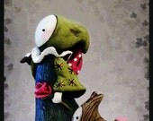 """NEW! Tarot Poppet - """"The Fool""""    - Limited Edition Poppet #5/100"""