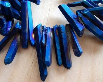ON SALE, Rainbow Mystic Titanium Crystal Quartz stick