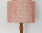 Lines Print Lampshade