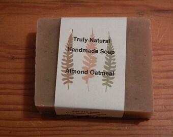 Almond Oatmeal Handmade Soap