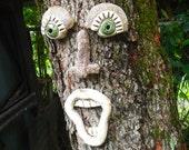 Singing Tree Face-Garden Art