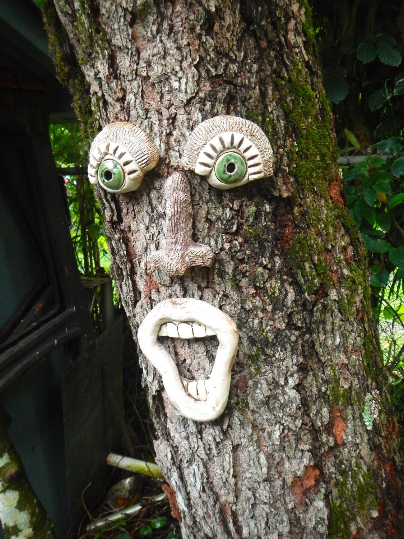 Singing Tree Face Garden Art
