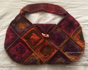 Shades of Nature Crochet Bag