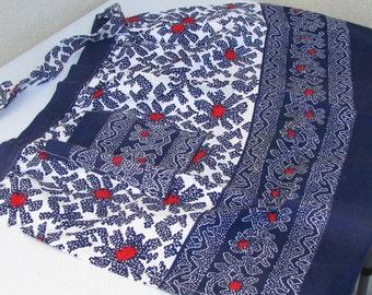 One-of-a-kind handmade vintage apron