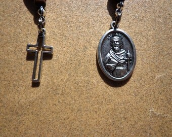 Saint Paul Rosary - Patron Saint of Authors, Press, Publishers, Writers, Public Relations for Hospitals and Travel, Saint Paul Medal