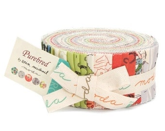 SALE Erin Michaels Purebred Jelly Roll from Moda