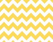 Flannel, Medium, Chevron, Yellow, Riley, Blake, Designs, Cotton, Fabric, Unisex, Baby, Girl, Boy, Bright, Stripes, FREE, SHIPPING, to U.S.