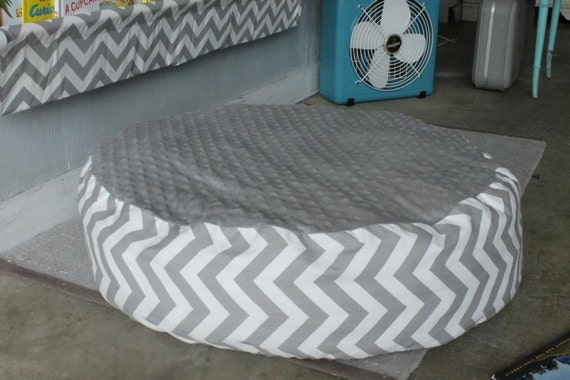 Giant Chevron Floor Pillows : Items similar to Floor Pillow Cover - Gray and White Chevron - Pouf Large on Etsy