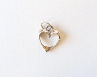 Vintage //// Sterling Silver Heart