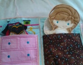 Flash Sale Portable Doll Closet for  Felt Paper Dolls