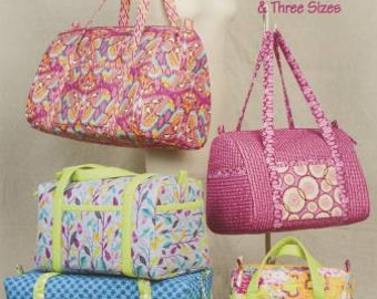 Duffle Bags Softcover Pattern Book Taylor Made Designs