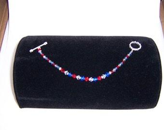 Swarovski toggle bracelet