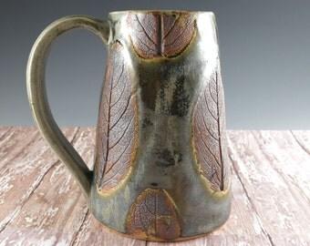 Pottery Tankard - Extra Large Mug - Beer Stein - Beer Mug - 32 oz - 607