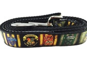 Dog Leash, Harry Potter, 1 inch wide, 1 foot, 4 foot, or 6 foot