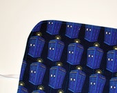 Dr Who Crochet Hook Organizer Not Where, More When DPN Storage Case  gift for knitter geek gift BBC tardis dr who Quiltsy Handmade