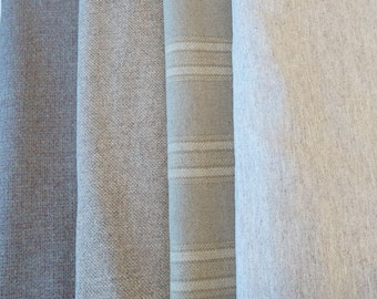 Natural - Neutral - Grey Felted Wool Fabric Perfect For Rug Hooking and Applique -Quilting