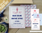 50% Off Flash SALE - Crawfish Boil, Shrimp Boil, Crab, Lobster or Low Country Boil Invitations for any event, any color