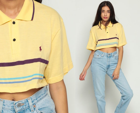 f0fcd249f8f ... promo code for polo crop top cropped shirt ralph lauren t shirt cropped  tshirt polo sport
