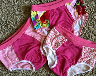 Girls Undies Size 4 (3 Pack) - Ready to Ship