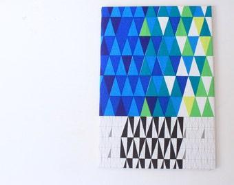 "Rare Mid Century Modern ""Pythagoras"" cloth designed by Sven Markelius for Knoll Textiles"