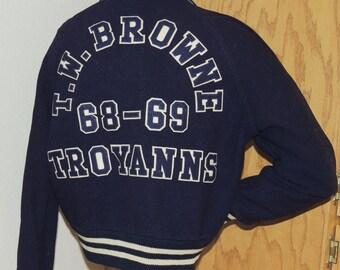 """1968 School Letter Jacket """"Helen"""""""