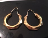Vintage 18kt Yellow gold Earrings
