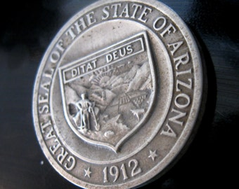 Vintage Medal Coin Arizona Grand Canyon 50th Anniversary Commorative Cast Metal 1969