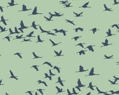 Flock Of Cranes Craft Stencil - Medium Size - Easy DIY Home Improvement