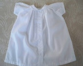Vintage Clothing Baby Girl White Dress Elegant Baby Christening Infant 0-6 months