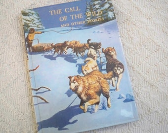 """Vintage Book """"The Call of the Wild and other Stories"""" Jack London 1987"""
