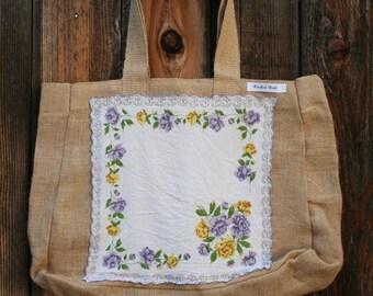 Natural hemp bag