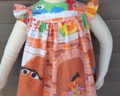 Sesame Street Baby Dress Recycled 6-12mo